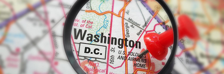 Washington, D.C. map